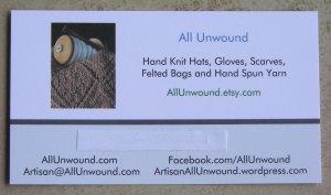 AllUnwound.com new business card