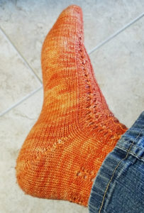 Hand Knit Wool Sock Weather Returns!