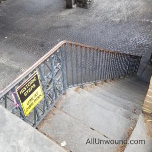 AllUnwound.com Historic Steps in Savannah GA Weekend Getaway