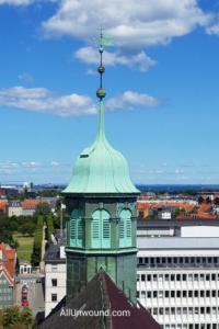 AllUnwound.com Round Tower View of Copenhagen, Denmark